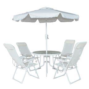 Conjunto-Para-Jardim-Monaco-com-4-Cadeiras-Mesa-e-Guarda-sol-Branco-Bel