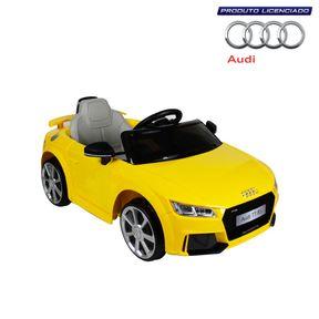 Carro-Audi-Tt-Rs-Eletrico-12v-Amarelo-Bel