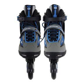 Patins-Inline-Future-Pro-Ajustavel-Azul-41-Bel