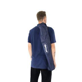 -Cadeira-Dobravel-Araguaia-Comfort-com-Braco-e-Porta-Copo-Azul-Marinho-Bel
