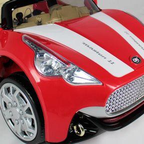 Carro-Conversivel-Eletrico-12v-Vermelho-Bel