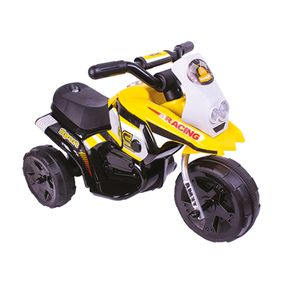 Mini-Triciclo-Eletrico-6v-Amarelo-Bel