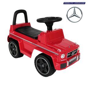 Carrinho-Andador-Mercedes-bens-Vermelho-Bel