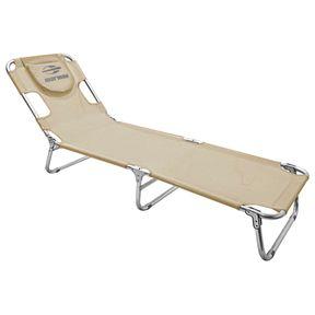 Cadeira-Espreguicadeira-Mormaii---Aluminio---Textilene-Areia