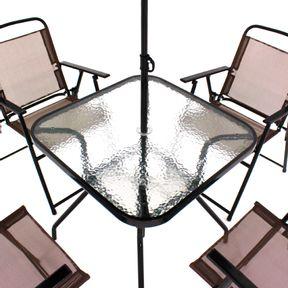 Conjunto-Para-Jardim-Miami-com-4-Cadeiras-Mesa-e-Guarda-sol-Marrom-Bel