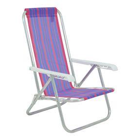 Cadeira-Reclinavel-4-Posicoes-Em-Aluminio-Rosa-e-Roxa-Bel