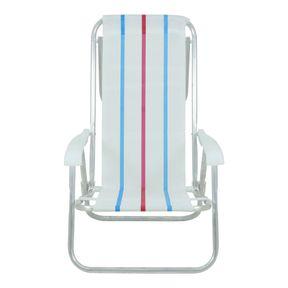 Cadeira-Reclinavel-8-Posicoes-Em-Aluminio-Branca-Listrada-Bel