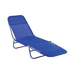 Cadeira-Espreguicadeira-Textilene-Azul--Bel