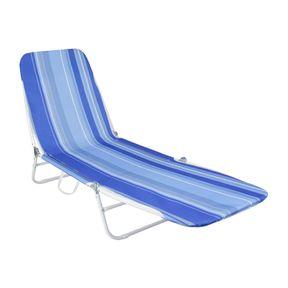 Cadeira-Espreguicadeira-Poliester-e-Pvc-Estampada-Azul-Bel