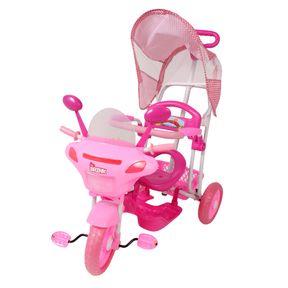 Triciclo-Infantil---Moto---Rosa