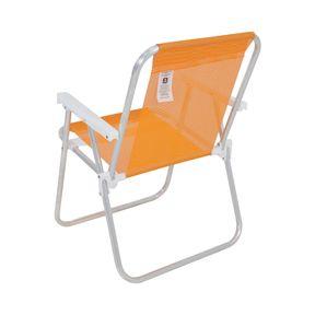 Cadeira-Alta-Lazy-Em-Aluminio-Laranja-Bel