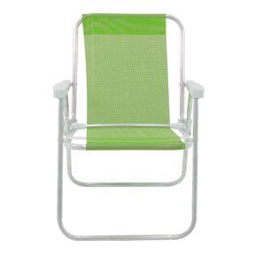 Cadeira-Alta-Lazy-Em-Aluminio-Verde-Bel