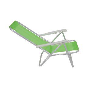 Cadeira-Lazy-Reclinavel-4-Posicoes-Em-Aluminio-Verde-Bel
