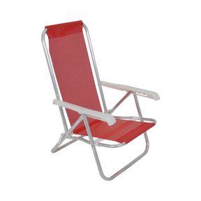 Cadeira-Lazy-Reclinavel-4-Posicoes-Em-Aluminio-Vermelha-Bel