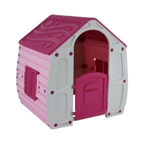 Casinha-de-Brinquedo-Magical-Rosa-Bel