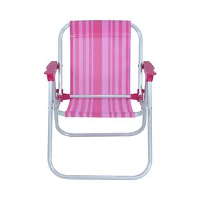 Cadeira-Infantil-Em-Aluminio-Rosa-Bel