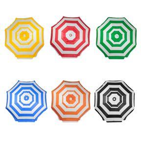 Guarda-sol-Listrado-Em-Bagum-e-Haste-de-Aluminio-160m-Cores-Sortidas-Bel-